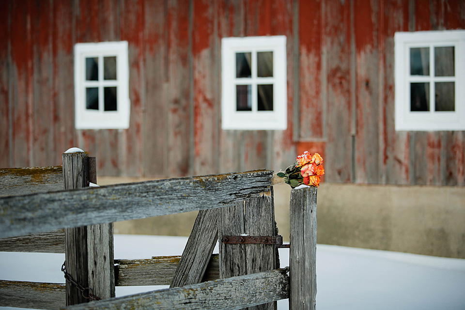Rustic Bridal Inspiration // The Barn at Allen Acres ...