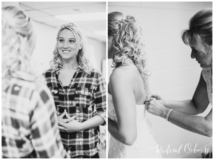 Cowgirl Boots and Lace Country Barn Wedding // Sterling, Dixon, Illinois Wedding Photography // © www.rachaelosbornphotography.com