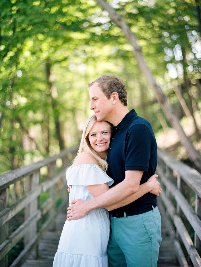 Lake Forest Engagement Session