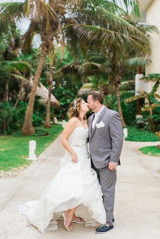 Cancun Mexico Destination Wedding Photography at Now Sapphire Resort by Rachael Osborn