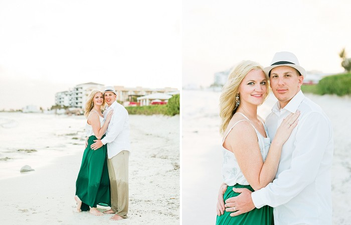 Caribbean Destination Wedding Photography by Rachael Osborn // Now Jade Riviera Maya Resort Beach Anniversary Session